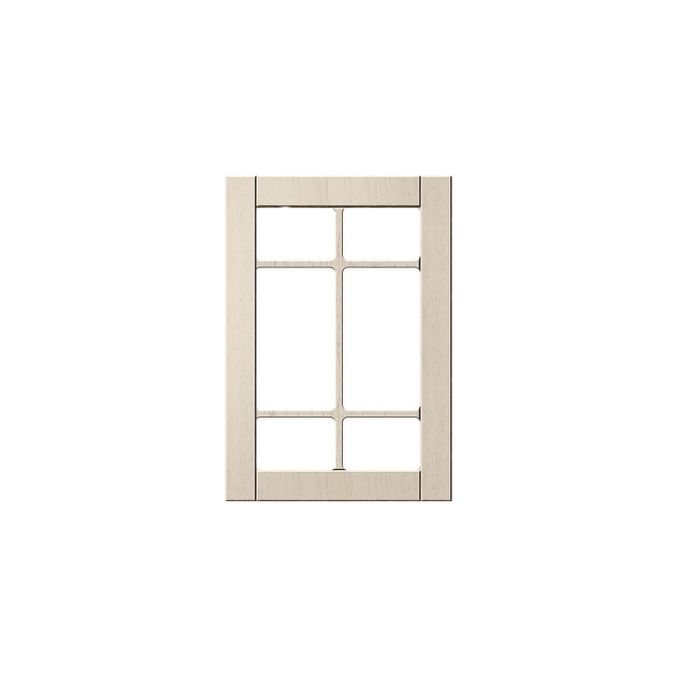 Шкаф «Тапио» настенный 1V/50-29-2 белый/дуб снежный