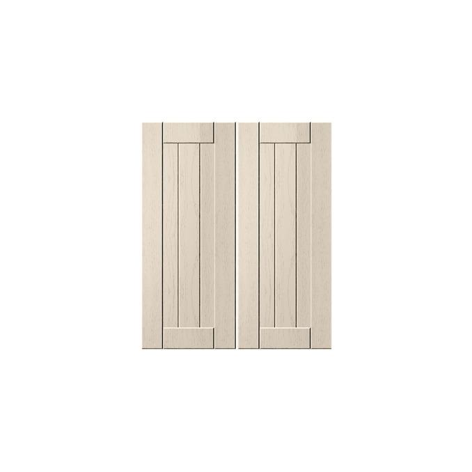 Шкаф «Тапио» для сушки посуды 2D/60 серый/дуб снежный