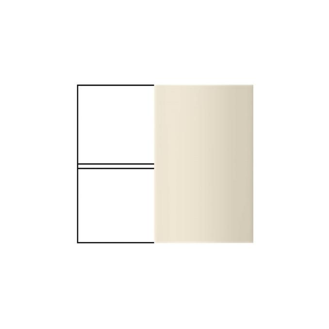 Шкаф «Бостон» угловой 1D/80-29 белый/ваниль