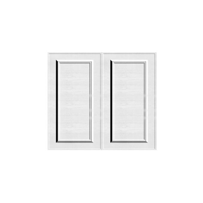 Шкаф кухонный «Гранд» 2D/80-51 белый/дуб полярный
