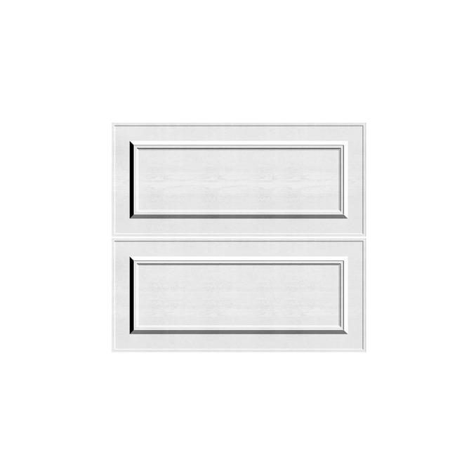 Шкаф «Гранд» 2S/80 белый/дуб полярный
