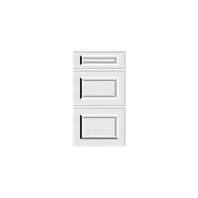 Шкаф «Гранд» 3S/50 белый/дуб полярный