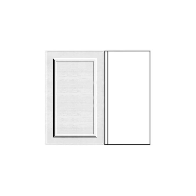 Шкаф «Гранд» угловой 1D/80-1-51 белый/дуб полярный