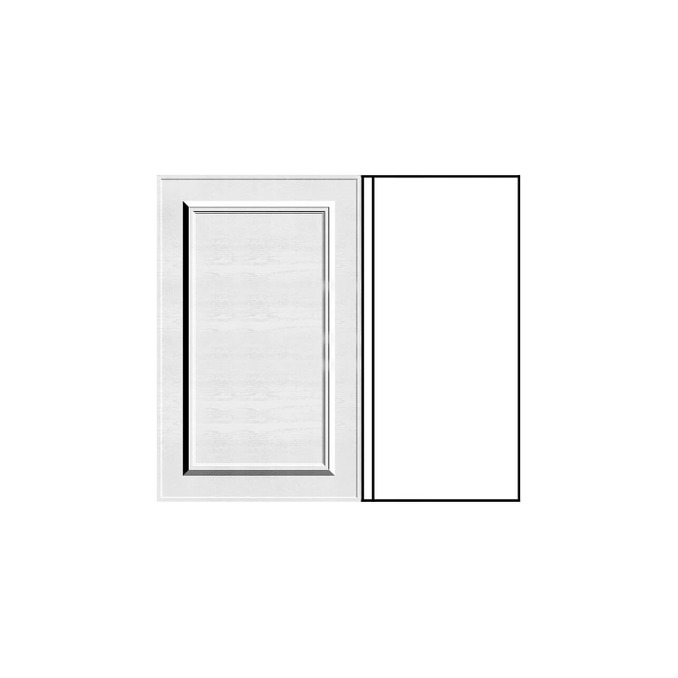 Шкаф «Гранд» угловой 1D/80-51 белый/дуб полярный