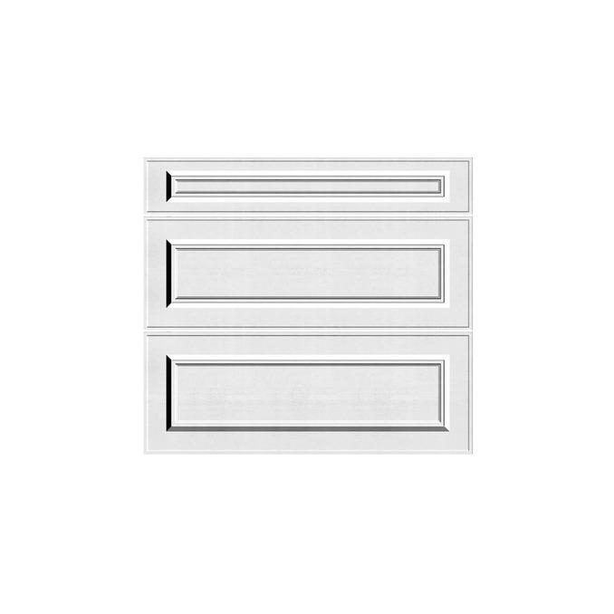 Шкаф «Гранд» 3S/80-51 белый/дуб полярный