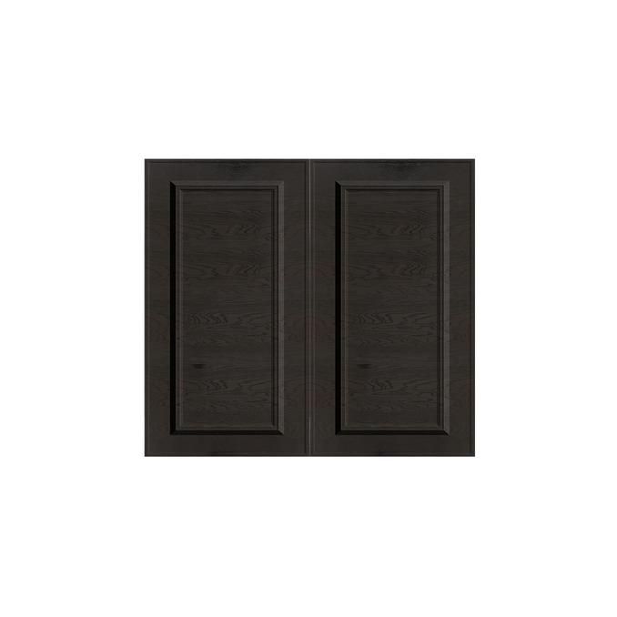 Шкаф под мойку «Гранд» 2D/80 белый/дуб английский