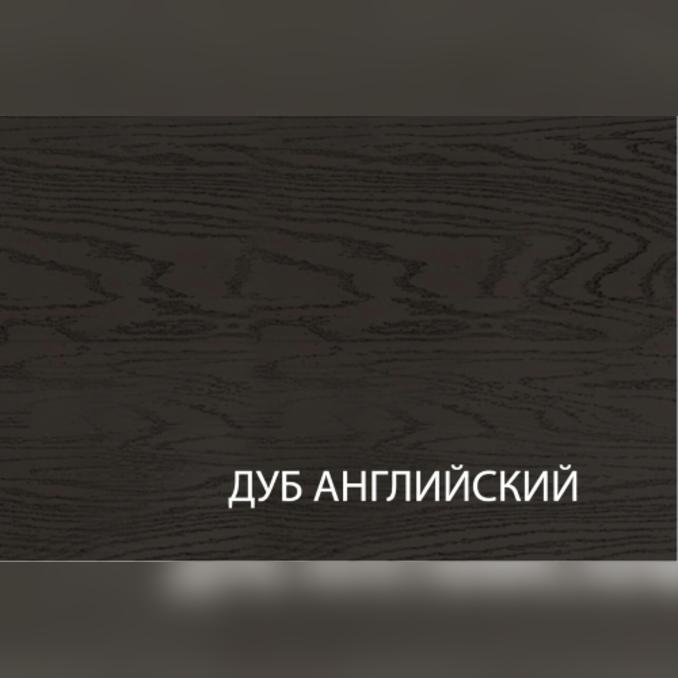 Шкаф «Гранд» 1D1S/40-51 белый/дуб английский