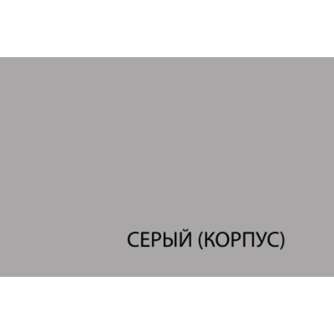 Шкаф «Бостон» настенный 1D/30-29 серый/белый