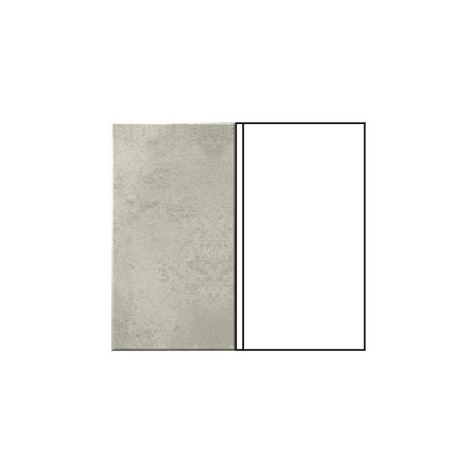 Шкаф угловой под мойку «Мэдисон» 1D/80 белый/камень