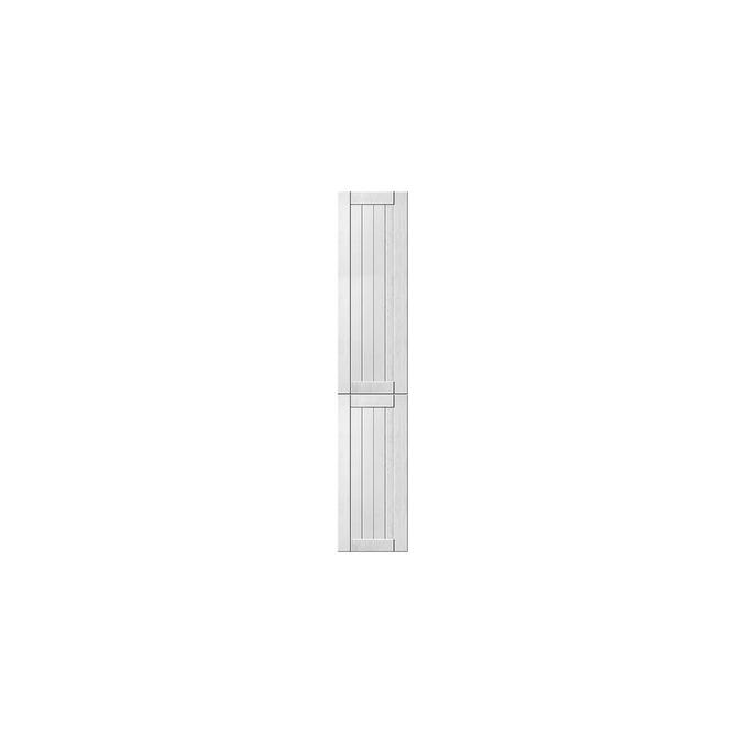Шкаф «Тапио» 2D белый/дуб полярный