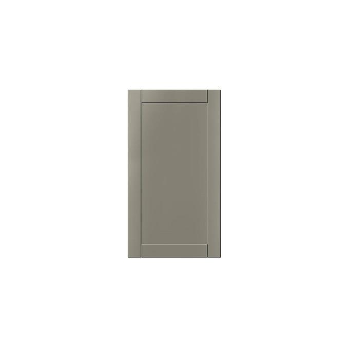Шкаф настенный «Авеню» 1D/40-29 серый/светло-серый сатин