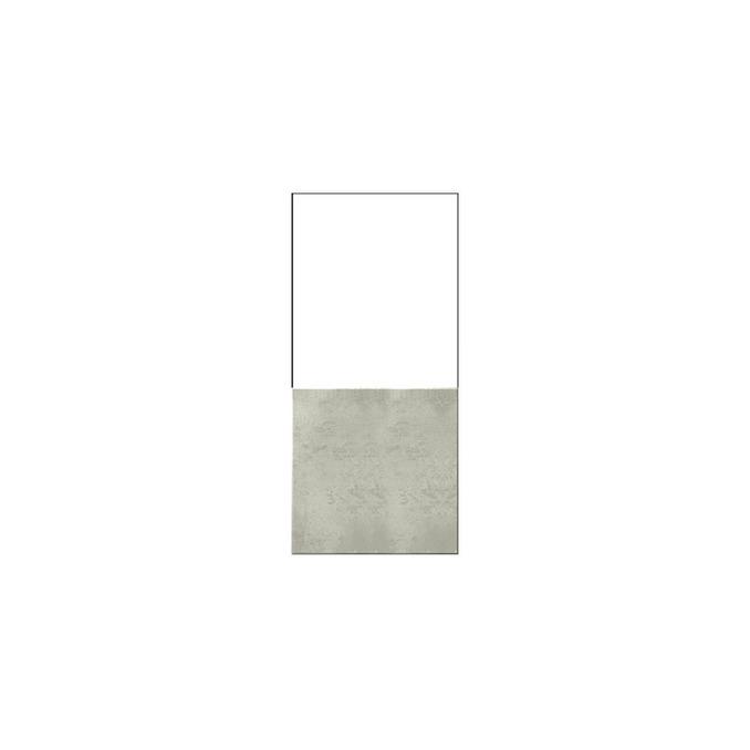 Шкаф напольный «Мэдисон» 1DN белый/камень