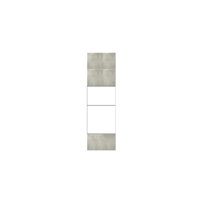 Шкаф кухонный «Мэдисон» 2DG1S/60 белый/камень
