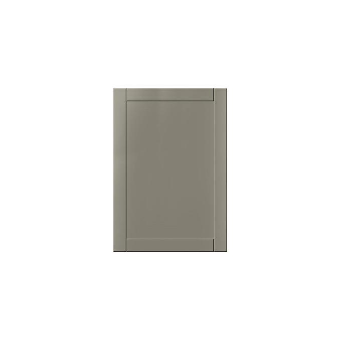 Шкаф-стол «Авеню» 1D/50-46 серый/светло-серый сатин