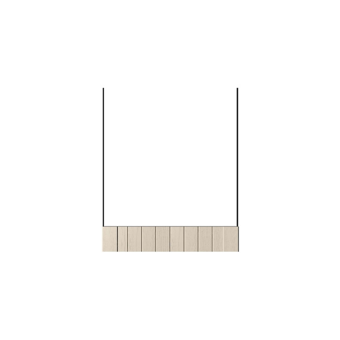 Шкаф «Тапио» для духовки 1S/60 серый/дуб снежный
