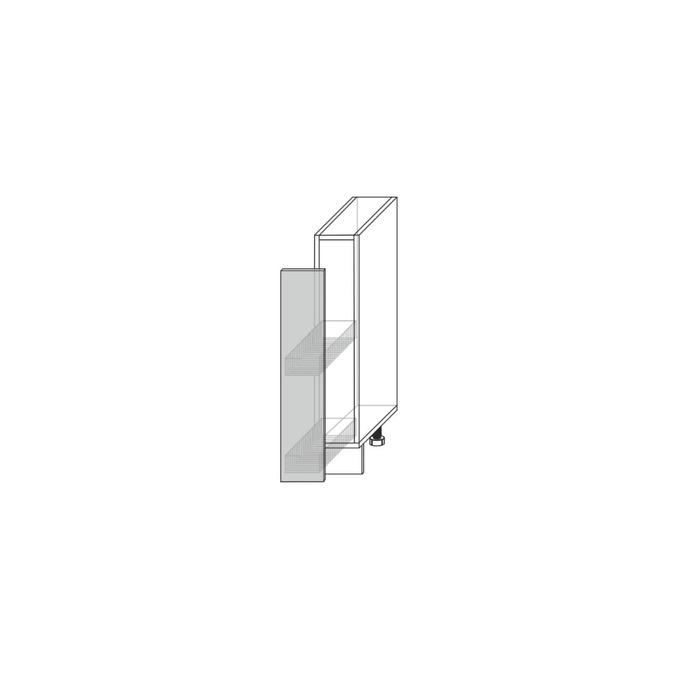 Шкаф «Гранд» 1DK/15-51 белый/дуб английский