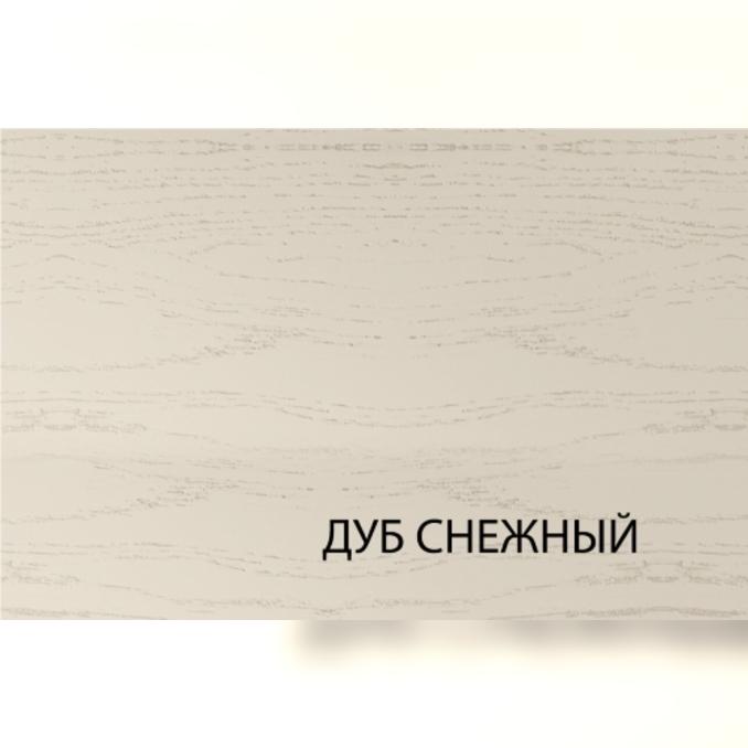 Шкаф «Тапио» 1D/40 белый/дуб снежный