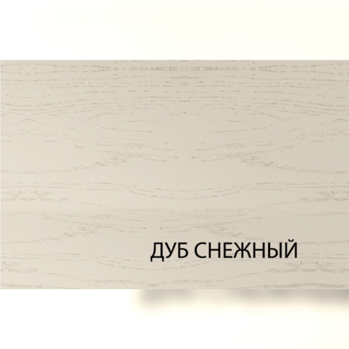 Шкаф «Тапио» настенный 1V/40-29-2 белый/дуб снежный