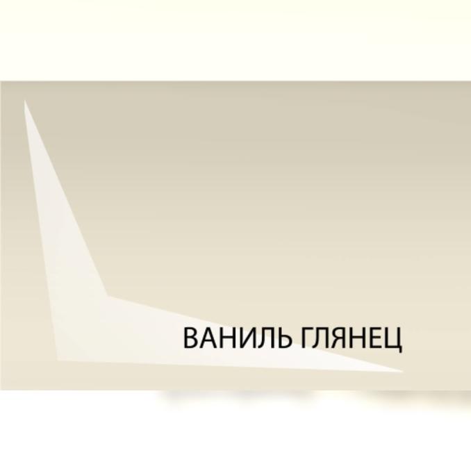 Шкаф «Бостон» настенный 1D/40-29-2 белый/ваниль