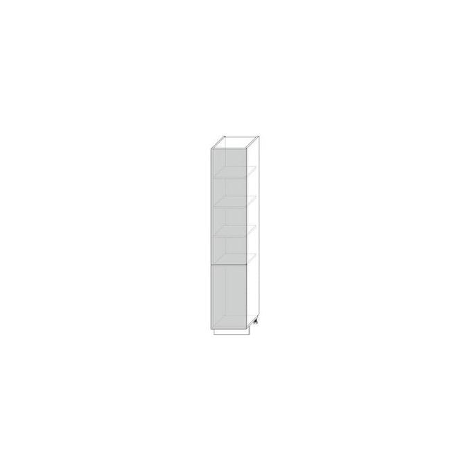 Шкаф-пенал «Луна» 2D 40 дуб артисан
