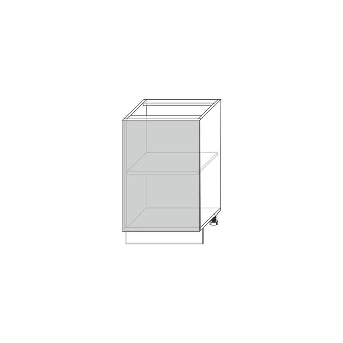 Шкаф для кухни «Луна» 1D/50 дуб артисан