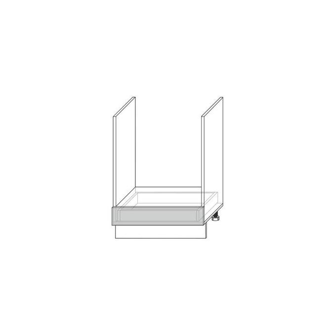 Шкаф под духовку «Вилма» 1S белый глянец
