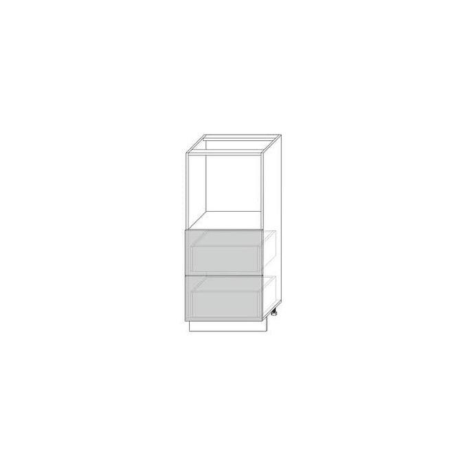 Шкаф «Вилма» 2SN белый глянец