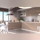 Шкаф для кухни «Вилма» 3S/60 белый глянец