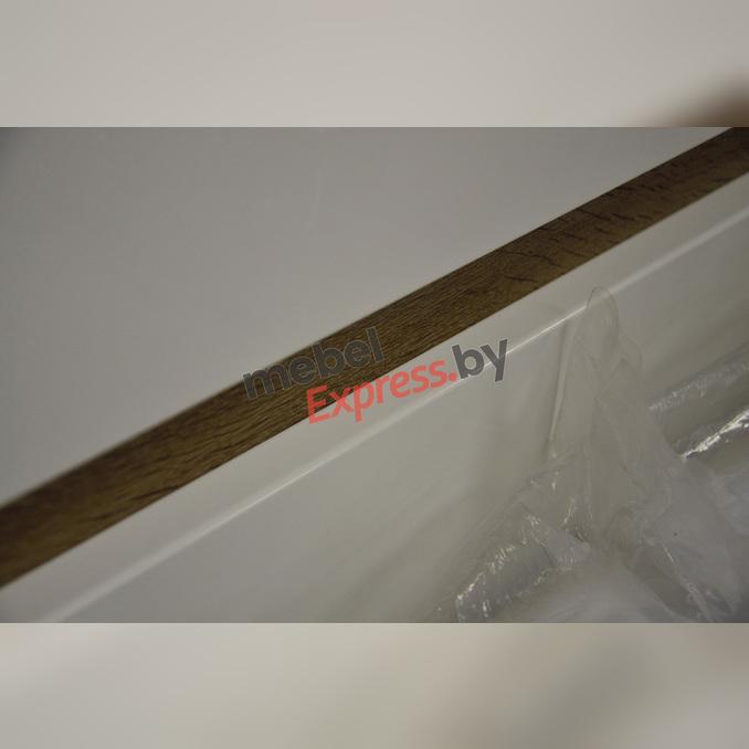 Кровать «Линате» 90 односпальная - белый глянец