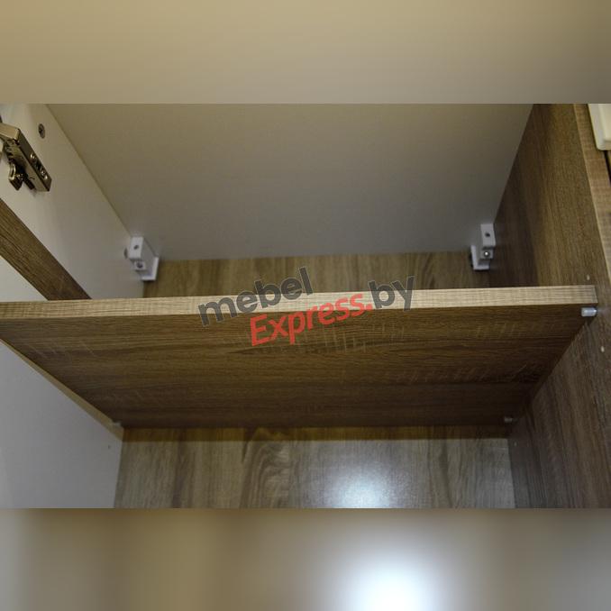 Шкаф навесной «Линате» 3D/ TYP67 белый глянец