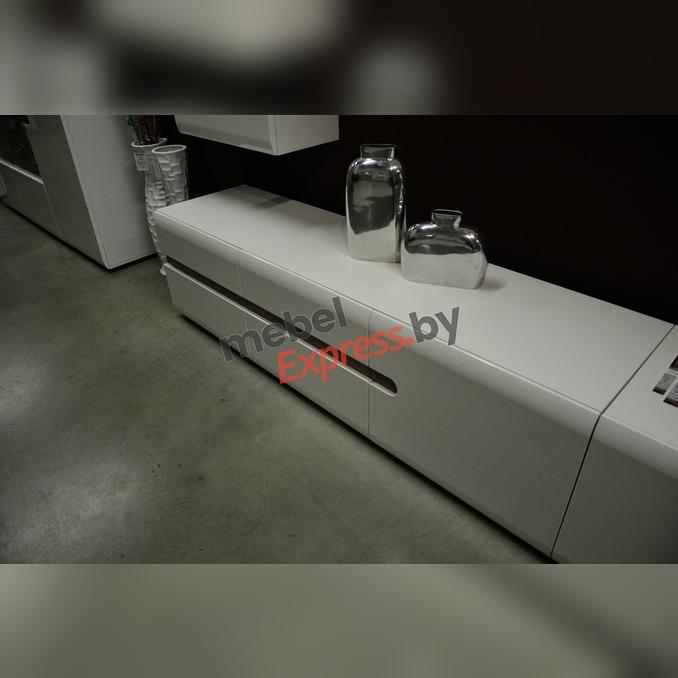 Тумба под телевизор «Линате» RTV 3D/TYP 51 белый глянец