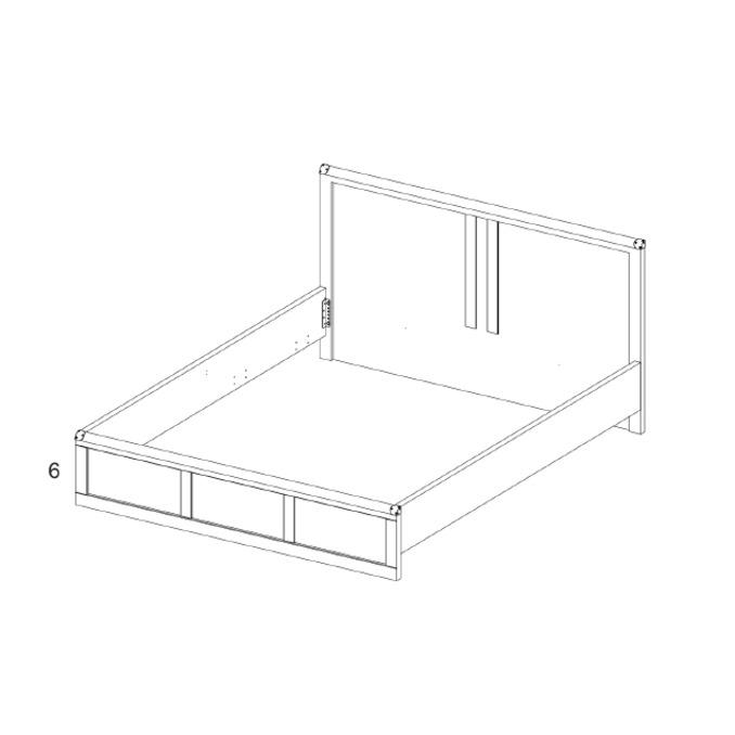 Кровать «Магеллан» 120 полуторная