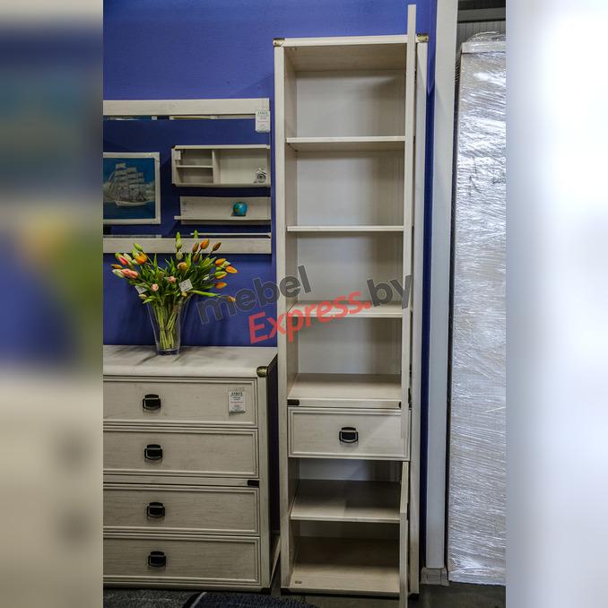 Шкаф-пенал «Магеллан» 2D1S с ящиком