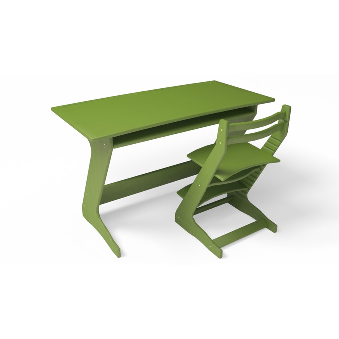 Парта Юнпион 120 зеленая