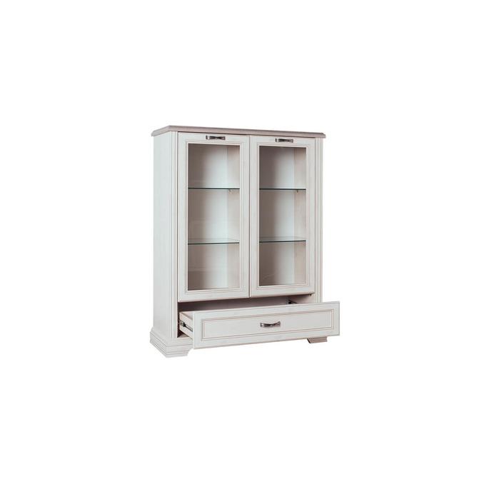 Шкаф-витрина «Монако» 2V1SL