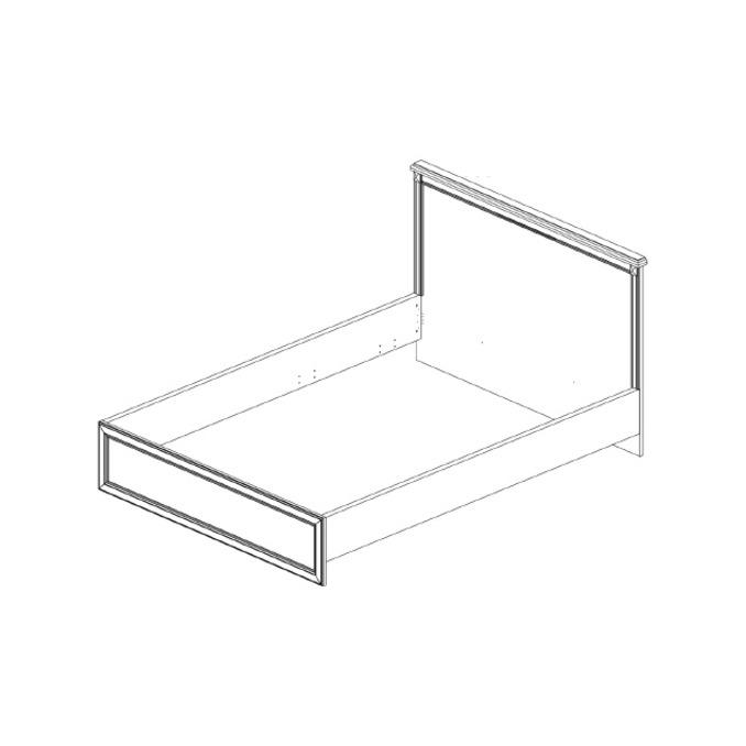 Кровать «Монако» 160 двуспальная