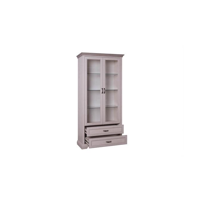 Шкаф-витрина «Монако» 2V2S