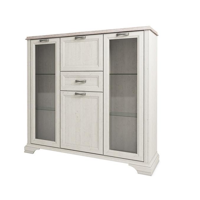 Шкаф-витрина «Монако» 2V2D1S