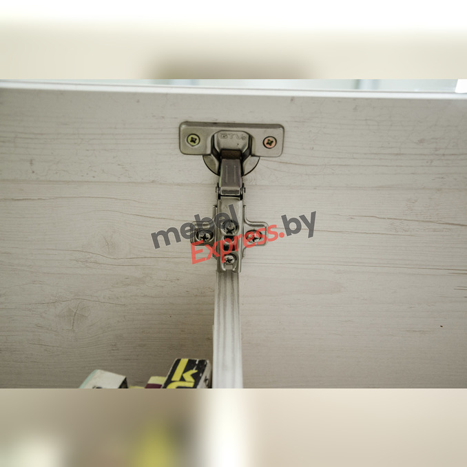 Полка навесная «Монако» 1V с витриной