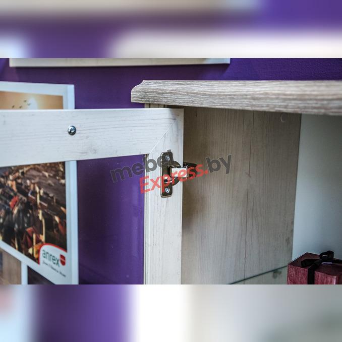 Шкаф-витрина «Монако» 1V1D1SL
