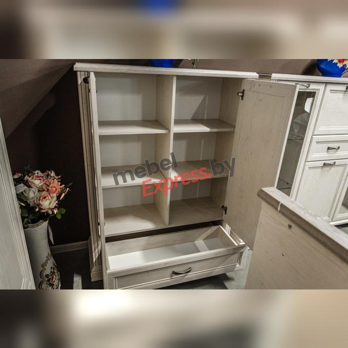 Шкаф «Монако» 2D1SL двухстворчатый низкий