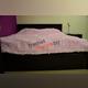 Кровать «Монте» 140 полуторная с подъемником - венге темный