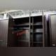Шкаф «Монте» трехстворчатый с зеркалом 3D2S 150 см - венге темный