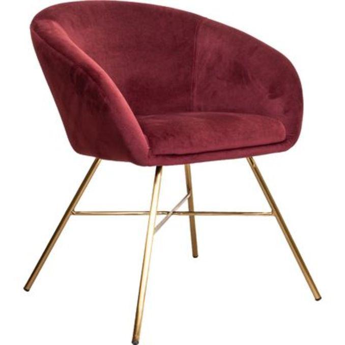 Кресло Амур бархат с золотом