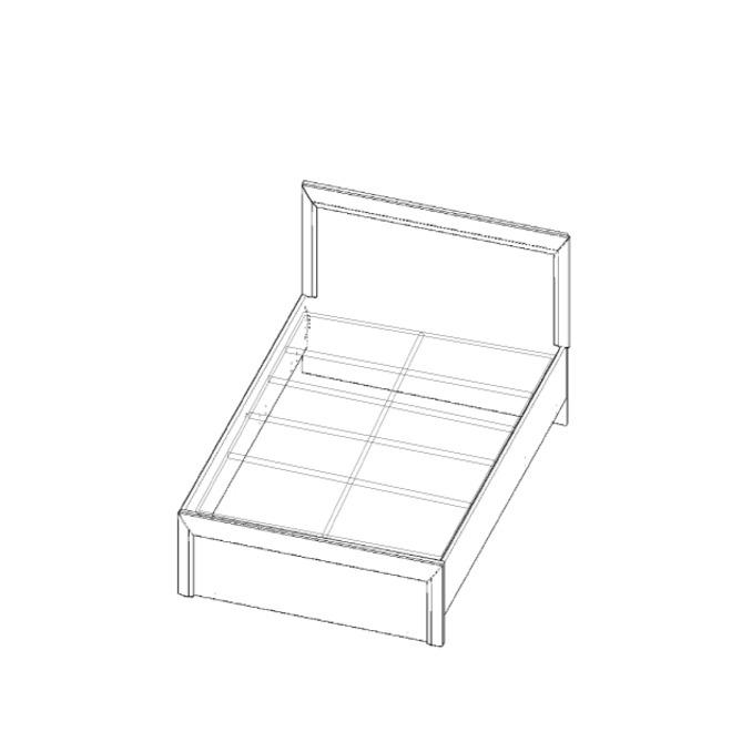 Кровать «Оливия» 90 односпальная