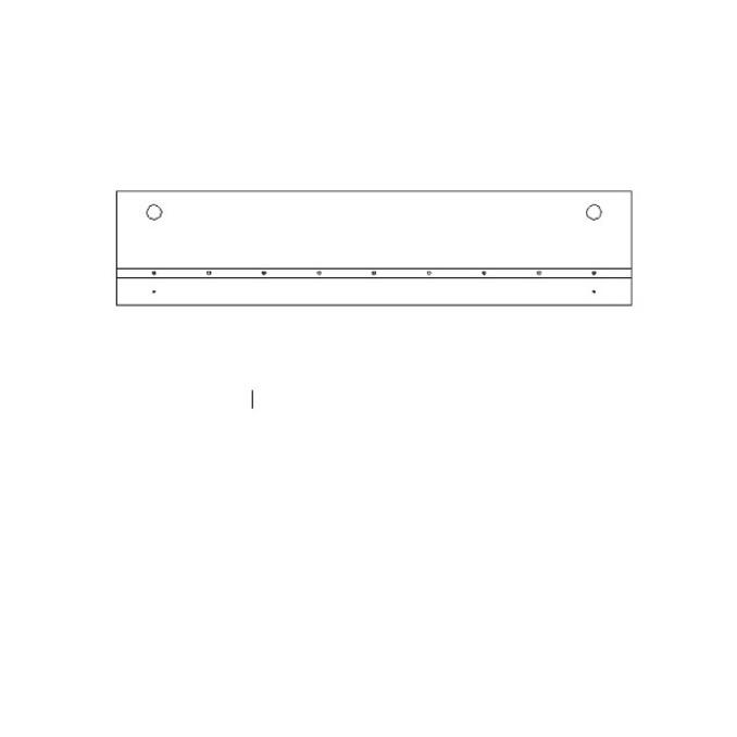 Полка настенная «Оливия» открытая ВТ 120 см
