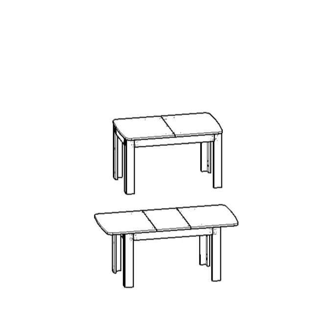 Стол обеденный «Оливия» раздвижной