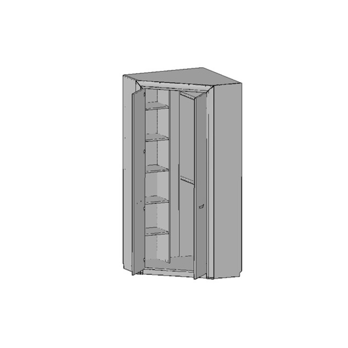 Шкаф  угловой «Оливия» 2D двухстворчатый