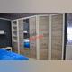 Шкаф «Оливия» одностворчатый с полками 1D
