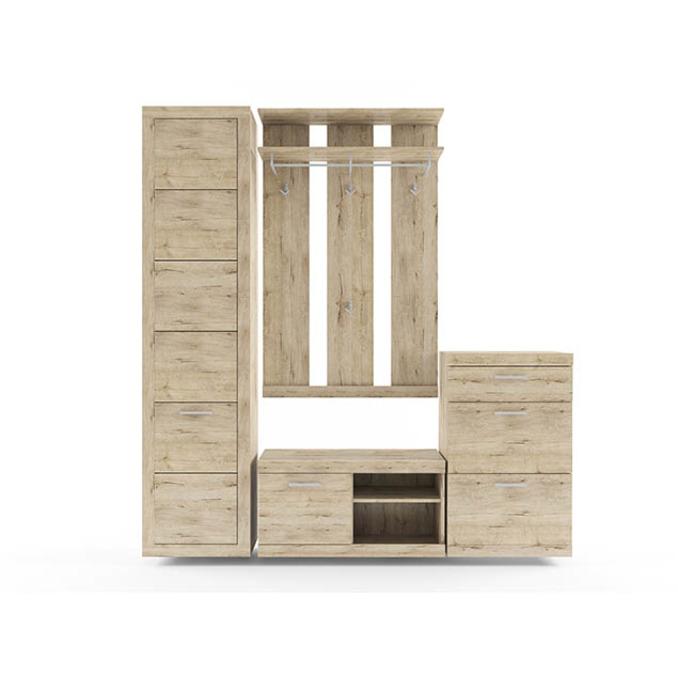 Набор мебели в прихожую «Оскар» 1